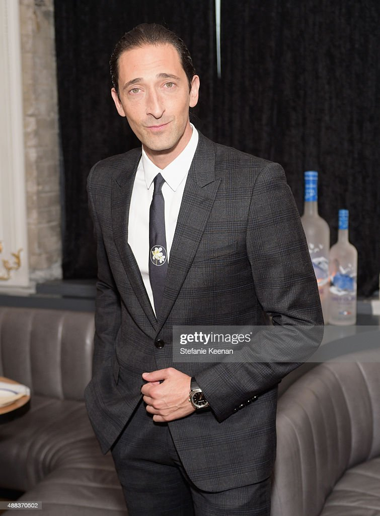 Actor Adrien Brody attends the Septembers of Shiraz TIFF Party Hosted By GREY GOOSE Vodka at Byblos on September 15, 2015 in Toronto, Canada.