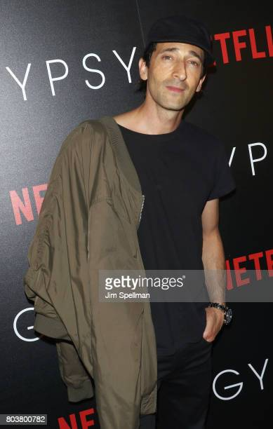 Actor Adrien Brody attends the special screening of 'Gypsy' hosted by Netflix at Public Arts at Public on June 29 2017 in New York City