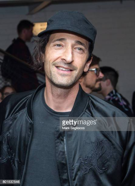 Actor Adrien Brody attends TriStar Pictures The Cinema Society and Avion's screening of Baby Driver at The Metrograph on June 26 2017 in New York City
