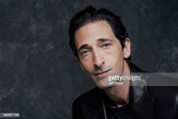 Actor Adrien Brody is photographed at the Toronto Film Festival on September 10, 2013 in Toronto, Ontario.