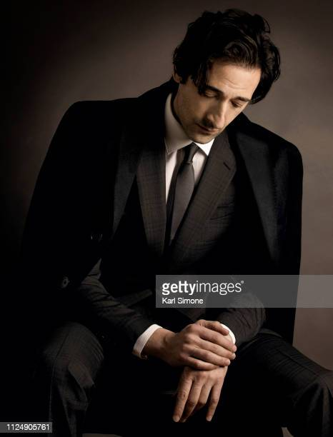 Actor Adrien Brody is photographed for August Man Malaysia on January 9, 2015 in New York City. PUBLISHED IMAGE.