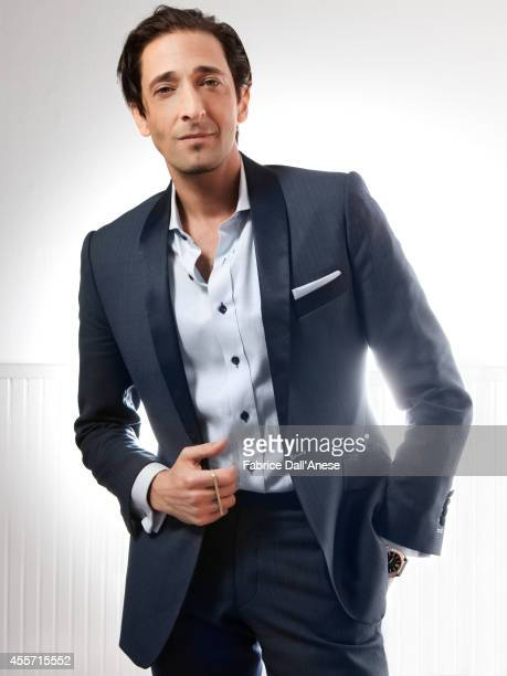 Actor Adrien Brody is photographed for Self Assignment in New York City.