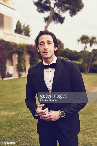 Actor Adrien Brody is photographed for Self Assignment on May 15 2015 in Cannes France