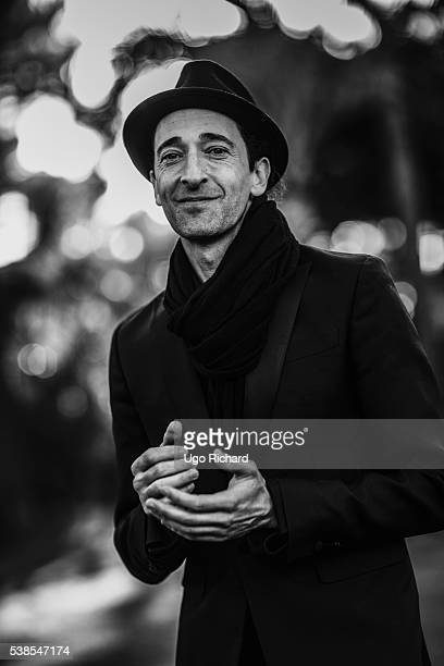 Actor Adrien Brody is photographed for Self Assignment on May 15 2016 in Cannes France