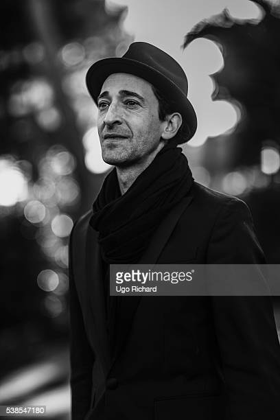 Actor Adrien Brody is photographed for Self Assignment on May 15, 2016 in Cannes, France.