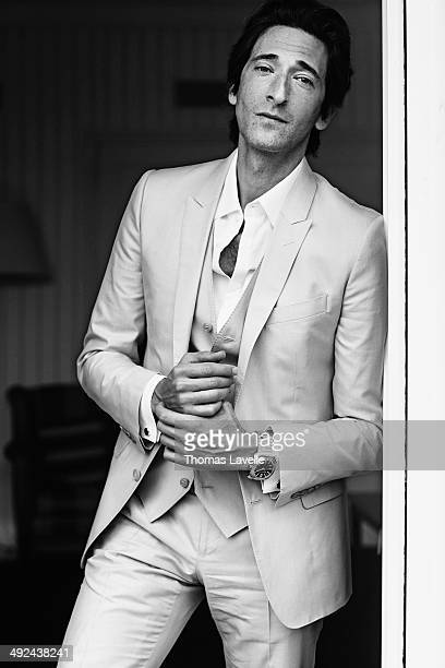 Actor Adrien Brody is photographed for Self Assignment on May 19 2014 in Cannes France