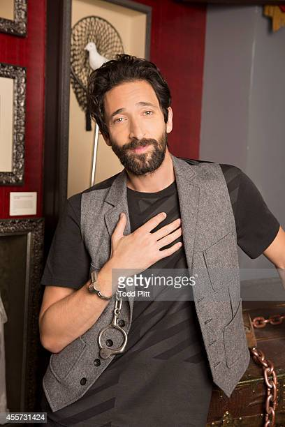 Actor Adrien Brody is photographed for USA Today on August 25 2014 in New York City
