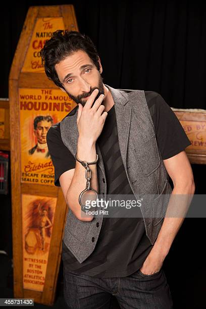 Actor Adrien Brody is photographed for USA Today on August 25 2014 in New York City PUBLISHED IMAGE