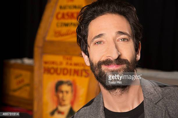 Actor Adrien Brody is photographed for USA Today on August 25, 2014 in New York City.