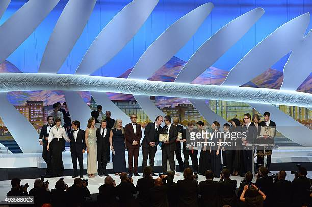 US actor Adrien Brody Italian actress Monica Bellucci Mexican actor and director Gael Garcia Bernal French actress Carole Bouquet US actor Willem...