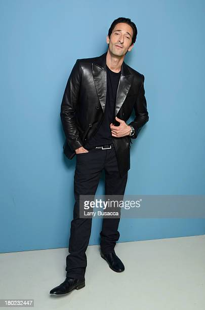 Actor Adrien Brody of 'Third Person' poses at the Guess Portrait Studio during 2013 Toronto International Film Festival on September 10 2013 in...