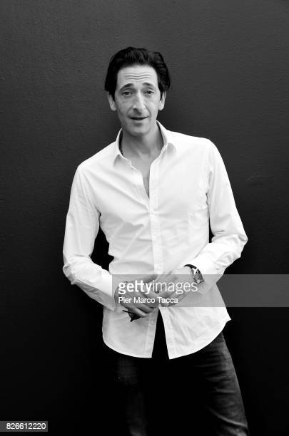 Actor Adrien Brody poses during the 70th Locarno Film Festival on August 5 2017 in Locarno Switzerland