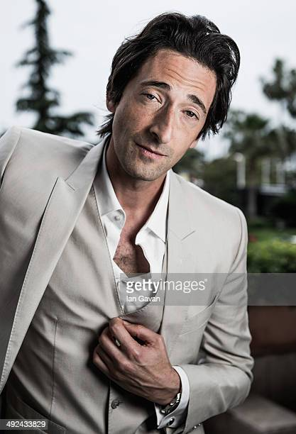 Actor Adrien Brody poses for the Emperor portrait session during the 67th Annual Cannes Film Festival on May 19 2014 in Cannes France