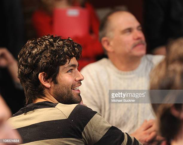 Actor Adrien Grenier attends The Creative Coalition's Teachers Making a Difference Luncheon Presented by Bing on January 25, 2011 in Park City, Utah.