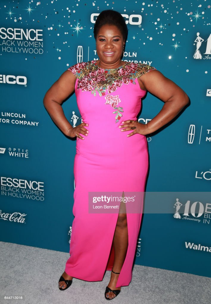 Actor Adrienne C. Moore at Essence Black Women in Hollywood Awards at the Beverly Wilshire Four Seasons Hotel on February 23, 2017 in Beverly Hills, California.