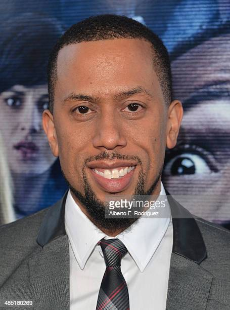 Actor Affion Crockett arrives to the premiere of Open Road Films' 'A Haunted House 2' at Regal Cinemas LA Live on April 16 2014 in Los Angeles...