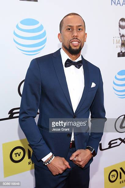 Actor Affion Crockett attends the 47th NAACP Image Awards presented by TV One at Pasadena Civic Auditorium on February 5 2016 in Pasadena California