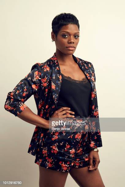 Actor Afton Williamson of ABC's 'The Rookie' poses for a portrait during the 2018 Summer Television Critics Association Press Tour at The Beverly...
