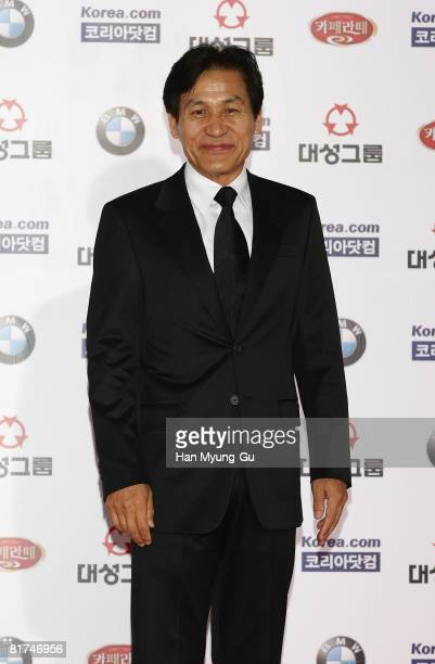 Actor Ahn SungKi attends the 45th Daejong Film Awards at the Coex Convention Hall on June 27 2008 in Seoul South Korea