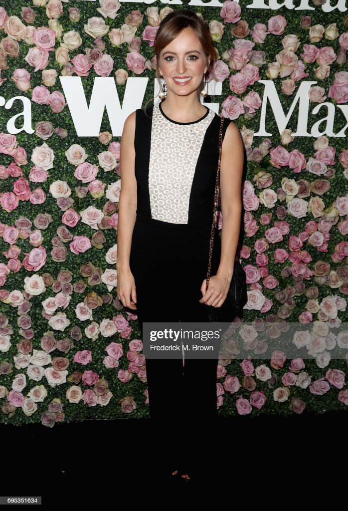 Max Mara Celebrates Zoey Deutch As The 2017 Women In Film Max Mara Face Of The Future Award Recipient - Arrivals