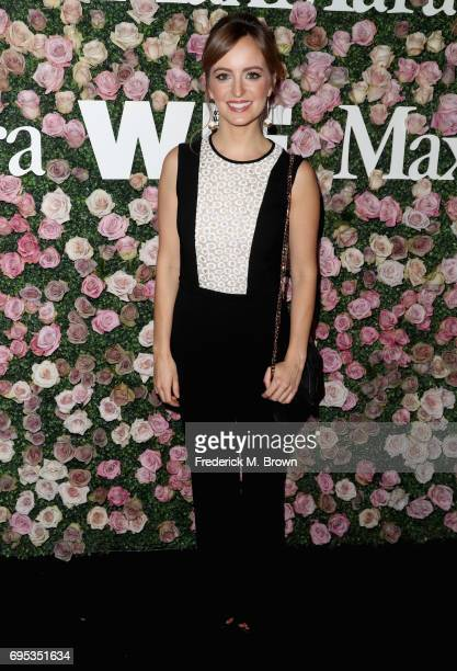 Actor Ahna O'Reilly attends Max Mara Celebration of Zoey Deutch as The 2017 Women In Film Max Mara Face of The Future Award Recipient at Chateau...