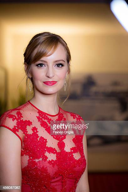 Actor Ahna O'Reilly is photographed on September 5 2014 in Venice Italy
