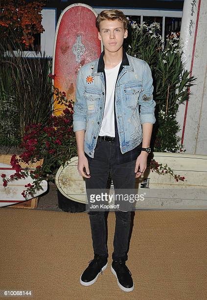 Actor Aidan Alexander arrives at Teen Vogue Celebrates 14th Annual Young Hollywood Issue at Reel Inn on September 23 2016 in Malibu California