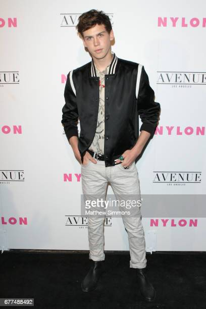 Actor Aidan Alexander attends NYLON's Annual Young Hollywood May Issue Event at Avenue on May 2 2017 in Los Angeles California