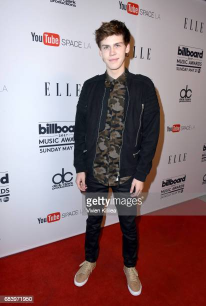 Actor Aidan Alexander attends the '2017 Billboard Music Awards' And ELLE Present Women In Music At YouTube Space LA at YouTube Space LA on May 16...