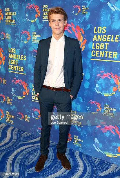 Actor Aidan Alexander attends the Los Angeles LGBT Center 47th Anniversary Gala Vanguard Awards at Pacific Design Center on September 24 2016 in West...