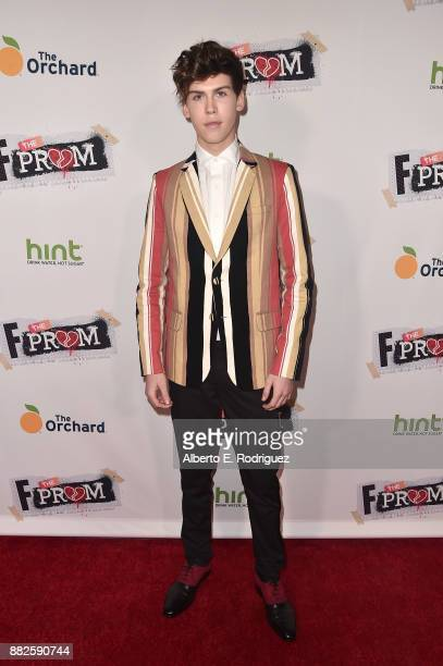 Actor Aidan Alexander attends the premiere Of Orchard And Fine Brothers Entertainment's F*% The Prom at ArcLight Hollywood on November 29 2017 in...