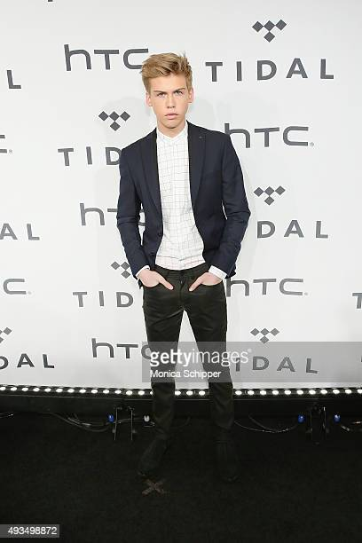 Actor Aidan Alexander attends TIDAL X 1020 at Barclays Center on October 20 2015 in the Brooklyn borough of New York City