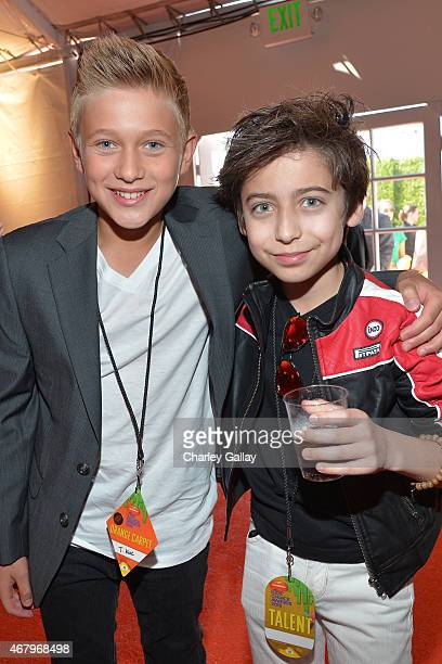 Actor Aidan Gallagher attend Nickelodeon's 28th Annual Kids' Choice Awards held at The Forum on March 28 2015 in Inglewood California