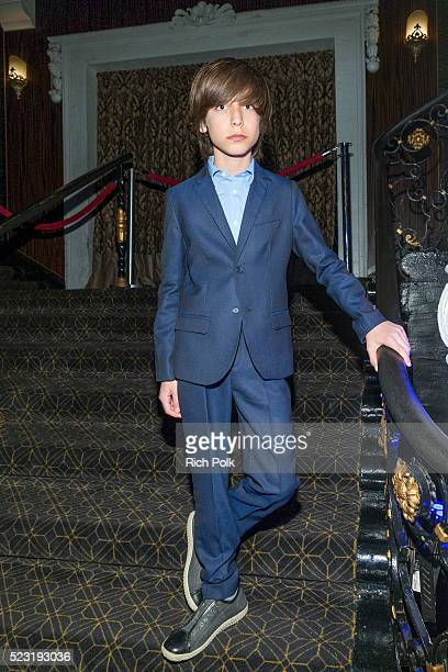 Actor Aidan Gallagher attends the Keep It Clean Comedy Benefit for Waterkeeper Alliance at Avalon on April 21 2016 in Hollywood California