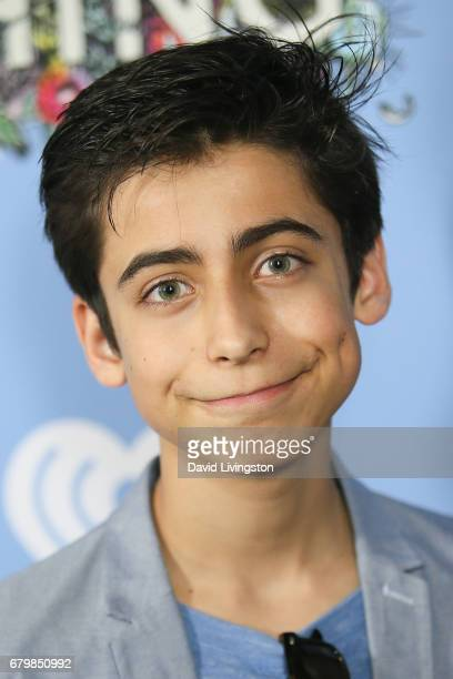 Actor Aidan Gallagher attends the screening of Warner Bros Pictures' 'Everything Everything' at the TCL Chinese Theatre on May 6 2017 in Hollywood...