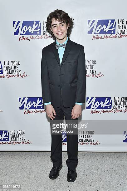 Actor Aidan Gemme attends 'You're A Good Man Charlie Brown' Opening Night After Party at Dylan's Candy Bar on May 31 2016 in New York City