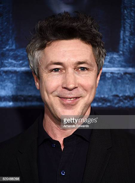 Actor Aidan Gillen arrives at the premiere of HBO's 'Game Of Thrones' Season 6 at the TCL Chinese Theatre on April 10 2016 in Hollywood California