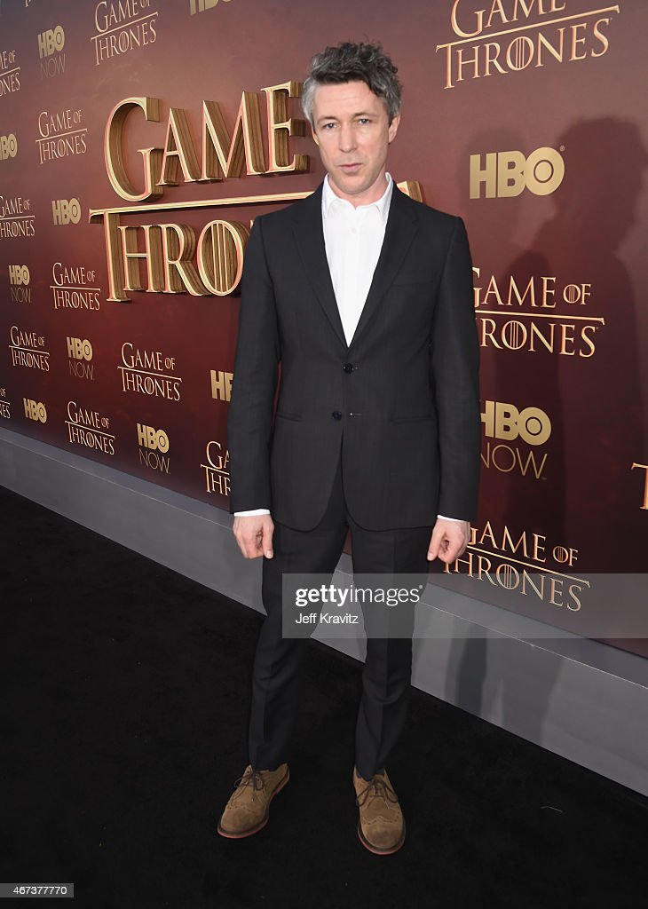 Actor Aidan Gillen attends HBO's 'Game of Thrones' Season 5 Premiere and After Party at the San Francisco Opera House on March 23, 2015 in San Francisco, California.