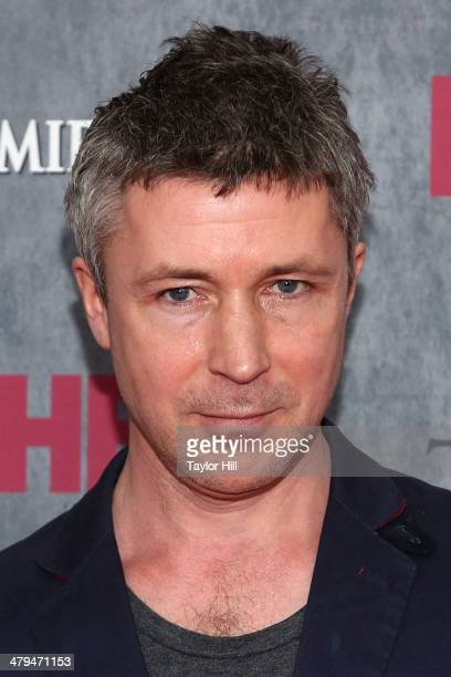 Actor Aidan Gillen attends the 'Game Of Thrones' Season 4 premiere at Avery Fisher Hall Lincoln Center on March 18 2014 in New York City