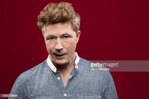 Actor Aidan Gillen from 'Project Blue Book' is photographed for Los Angeles Times on July 21 2018 in San Diego California PUBLISHED IMAGE CREDIT MUST...