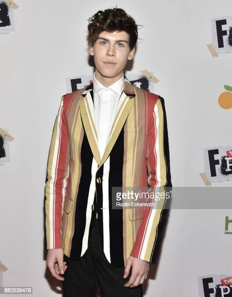 Actor Aidan J Alexander attends the premiere of The Orchard and Fine Brothers Entertainment's F*% The Prom at ArcLight Hollywood on November 29 2017...