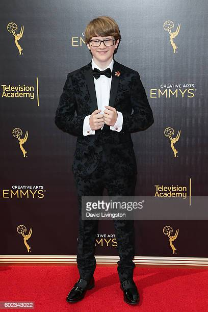 Actor Aidan Miner attends the 2016 Creative Arts Emmy Awards Day 1 at the Microsoft Theater on September 10 2016 in Los Angeles California