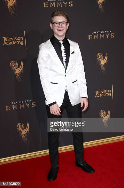 Actor Aidan Miner attends the 2017 Creative Arts Emmy Awards at Microsoft Theater on September 10 2017 in Los Angeles California