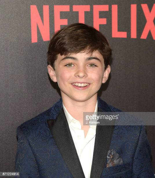 Actor Aidan Pierce Brennan attends the 'Marvel's The Punisher' New York Premiere on November 6 2017 in New York City
