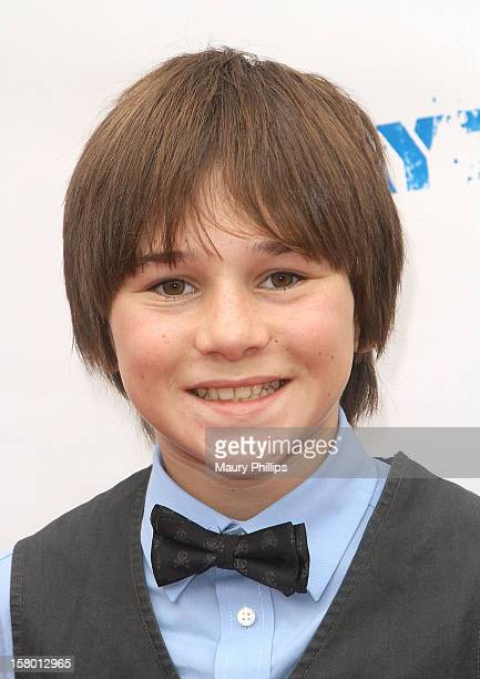 Actor Aidan Potter attends '3 Day Test' Los Angeles Premiere at Downtown Independent Theatre on December 8 2012 in Los Angeles California