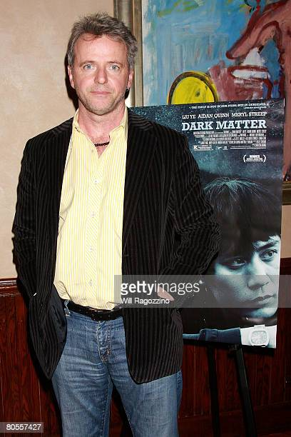 Actor Aidan Quinn attends a private screening of 'Dark Matter' at the Tribeca Grill on April 7 2008 in New York City