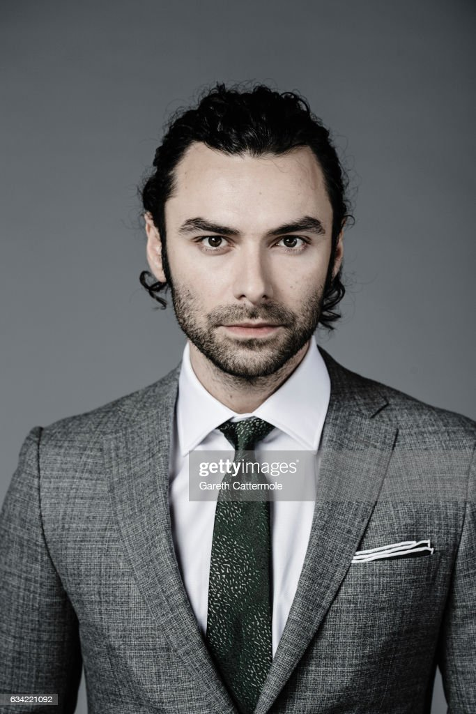 Actor Aidan Turner is photographed at the National Television Awards on January 25, 2017 in London, England.