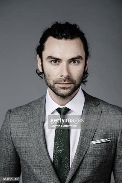 Actor Aidan Turner is photographed at the National Television Awards on January 25 2017 in London England