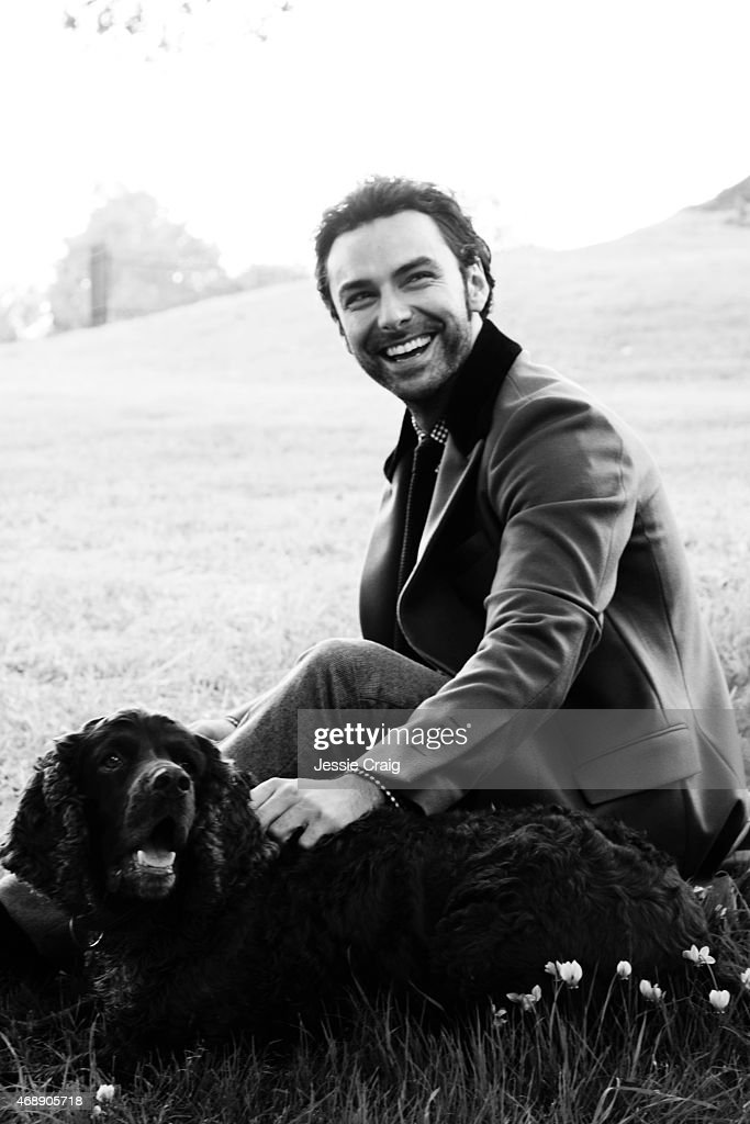 Actor Aidan Turner is photographed for Article magazine on September 15, 2014 in Bristol, England.