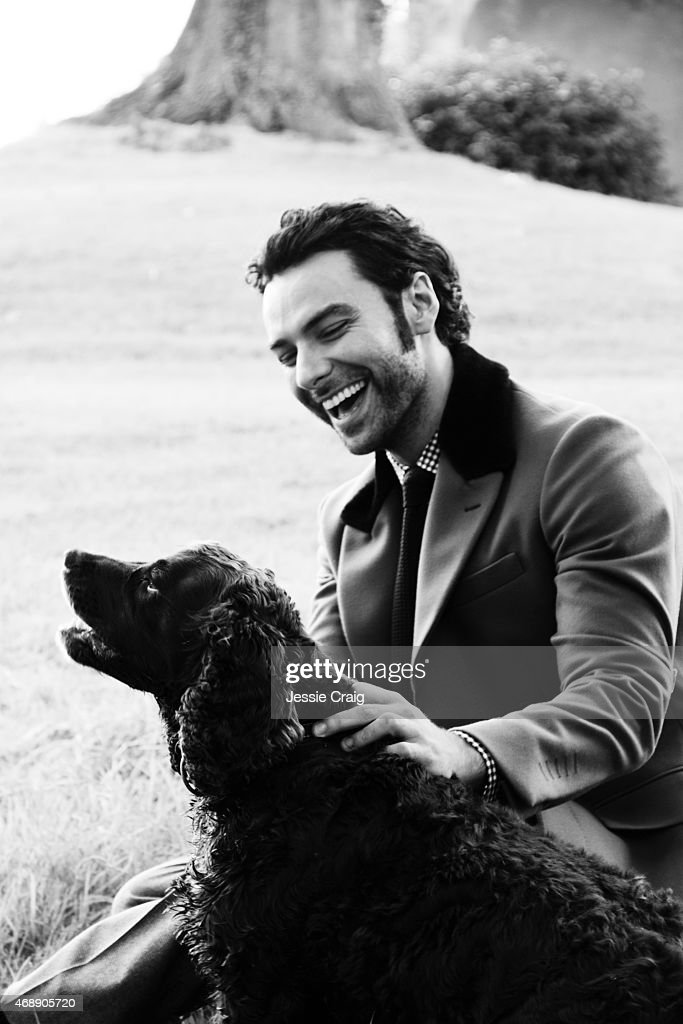 Aidan Turner, Article magazine UK, March 8, 2015 : News Photo